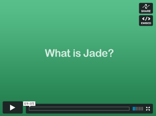Jade video image